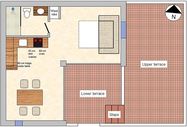 Costa-Natura - apartment 169 drawing