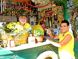 Renatos Beach Bar at Costa Natura Naturist Holiday Resort